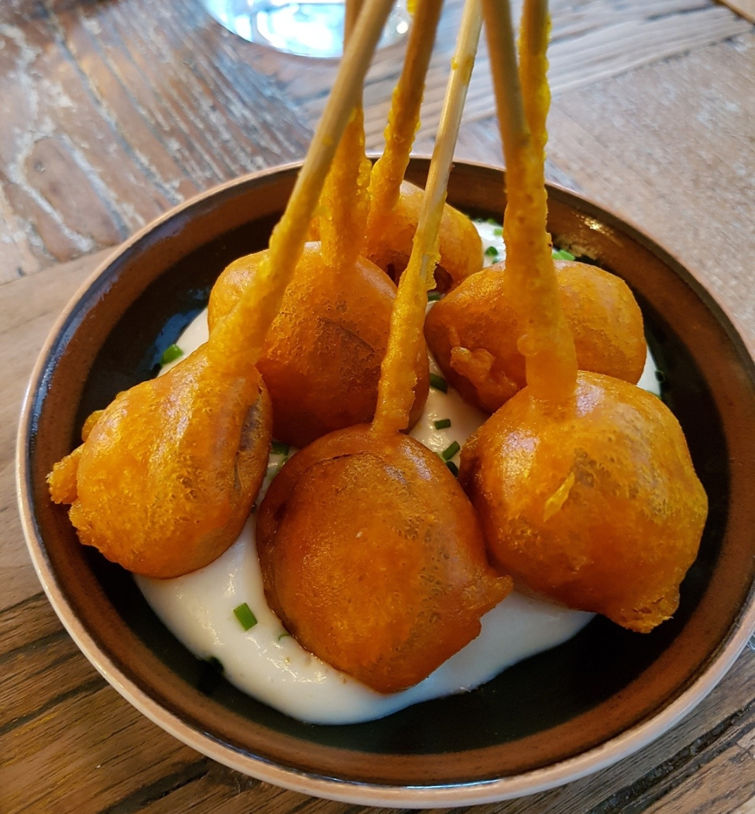 Chorizo Lollipops